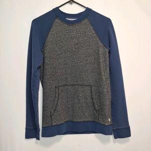 Levi's Crew Neck Gray/Blue Jersey Style Sweatshirt